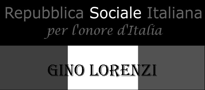 S.T. GINO LORENZI CROCIFISSO DAI PARTIGIANI