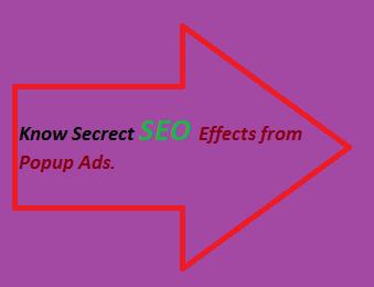 SEO Effects, Monetizing Popup Ads