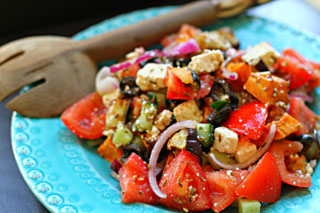 sweet greek salad