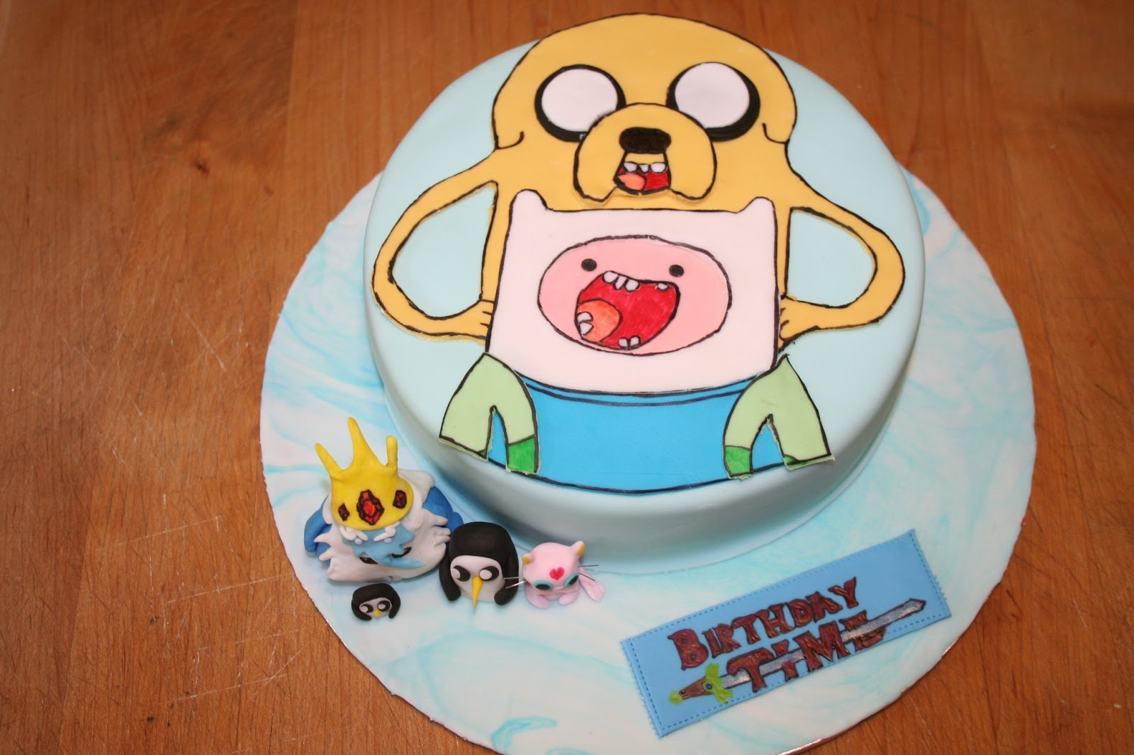 Birthday Time with Finn and Jake!  Carpe Cakem! (Seize the Cake!)