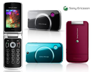 Sony Ericsson T707 latest flap design 3g phone
