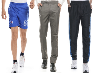 Fashionandyou: Buy Adidas, Nike, Swiss Polo Track Pants, Shorts & Trousers at 70% OFF
