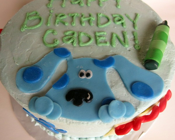 Blues Clues Notebook Cake Ideas And Designs