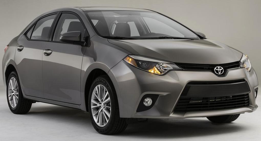 2014 Toyota Corolla grey