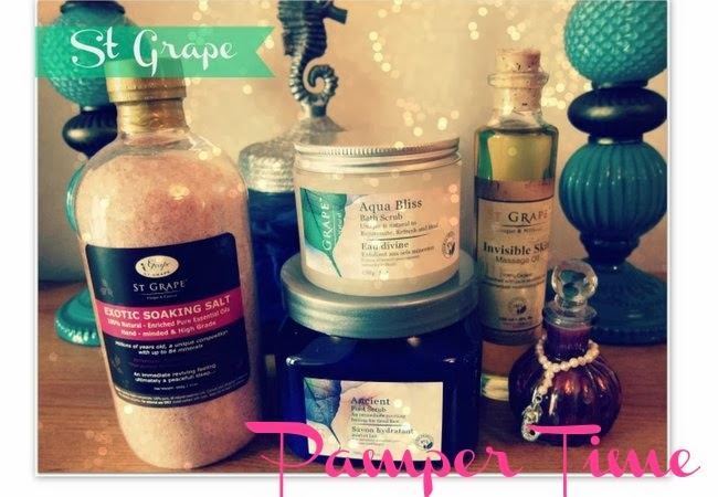 St Grape Bath and Body Products