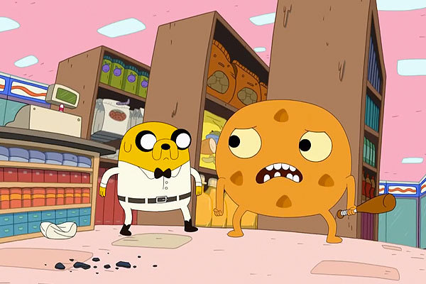 Jake's calm under pressure is bound to make this Adventure Time episode mandatory viewing for crisis negotiators at Quantico.