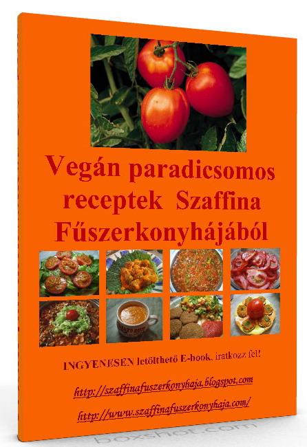 Vegán Paradicsomos receptek e-book