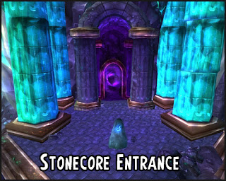 stonecore entrance portal location in deepholm