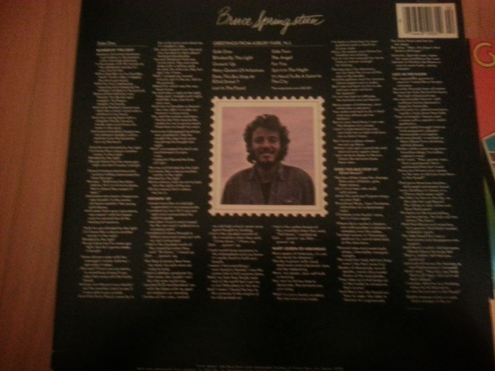 Legends of springsteen counting on a package deal part 1 greetings from asbury park springsteens debut album here weve got a standard looking record while the front features very little to identify this m4hsunfo Gallery