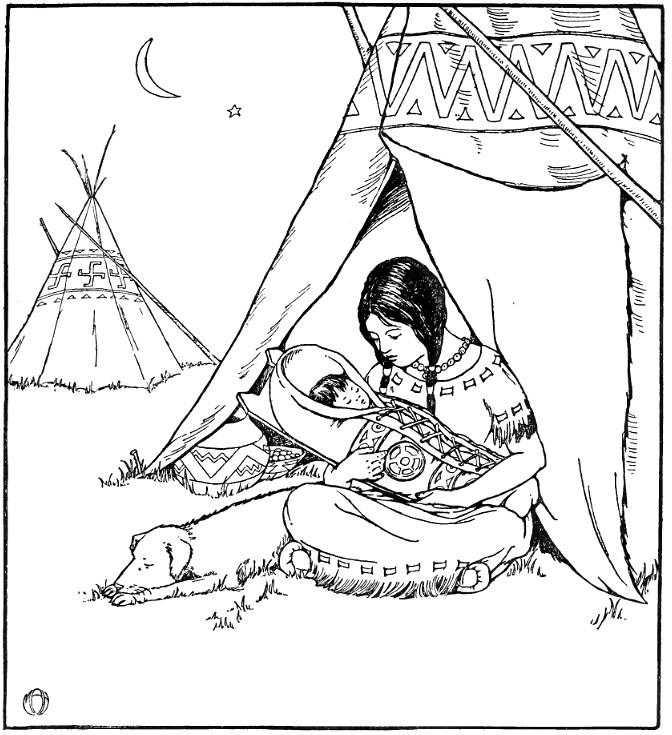 indios para imprimir