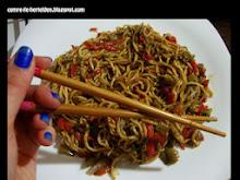 Sebzeli Noodle Tarifim :)