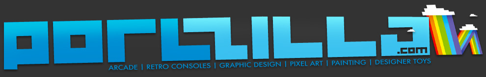 PORLZILLA.COM | Designer Toys, Paintings, Retro Consoles, Illustrations and Design by Paul Burke