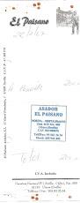 CUATRO COMIDAS EN UTRERA EL 22 DE FEBRERO 2.007
