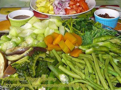 Pinakuloang Gulay Salad with Bagoong