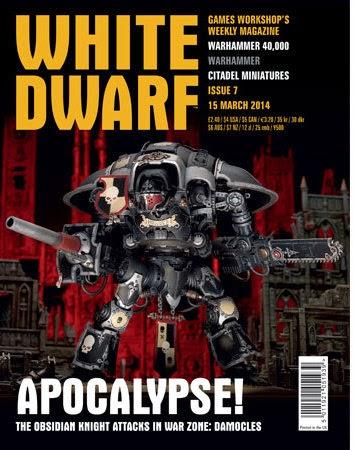 número 7 de la White Dwarf Weekly