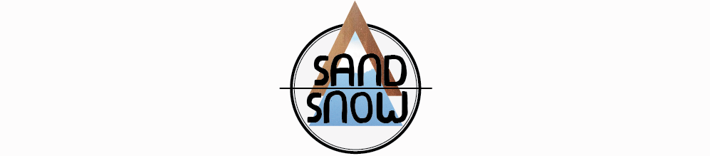 from sand to snow.