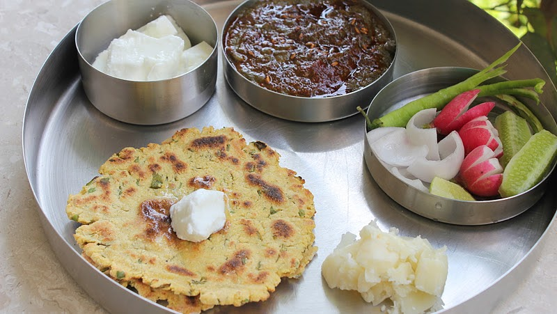 Ribbon 39 s to pasta 39 s sarso da saag te makki de roti for Authentic punjabi cuisine