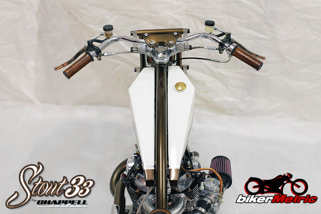 yamaha xs650 bobber gas tank top | chappell customs