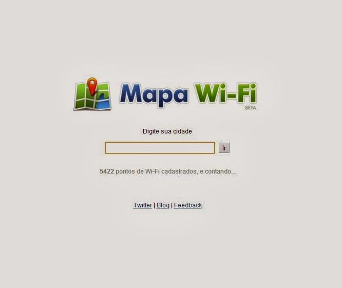 Mapa Wi-Fi