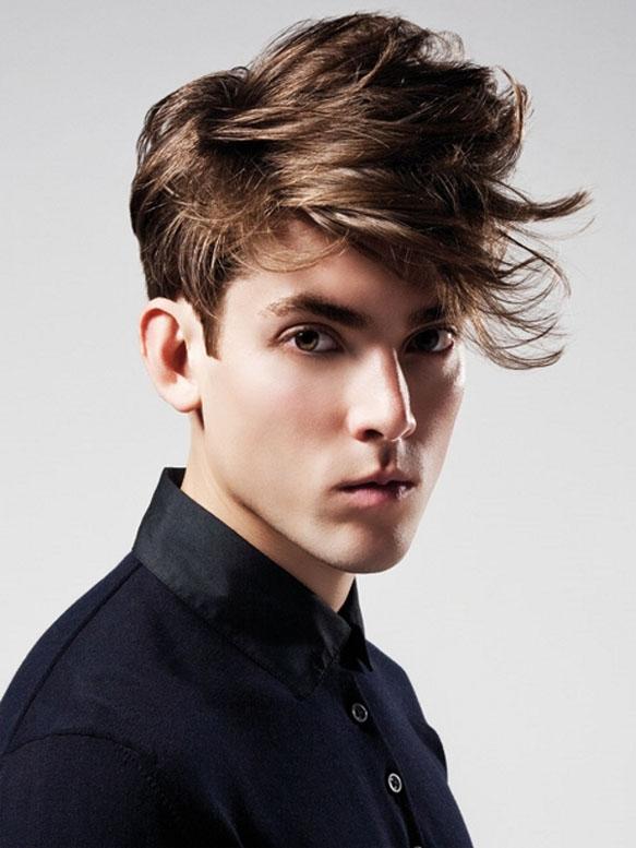 Medium Length Men's Hairstyles 2014
