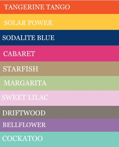 Sorellas Elite Fashion Color Of The Year 2012
