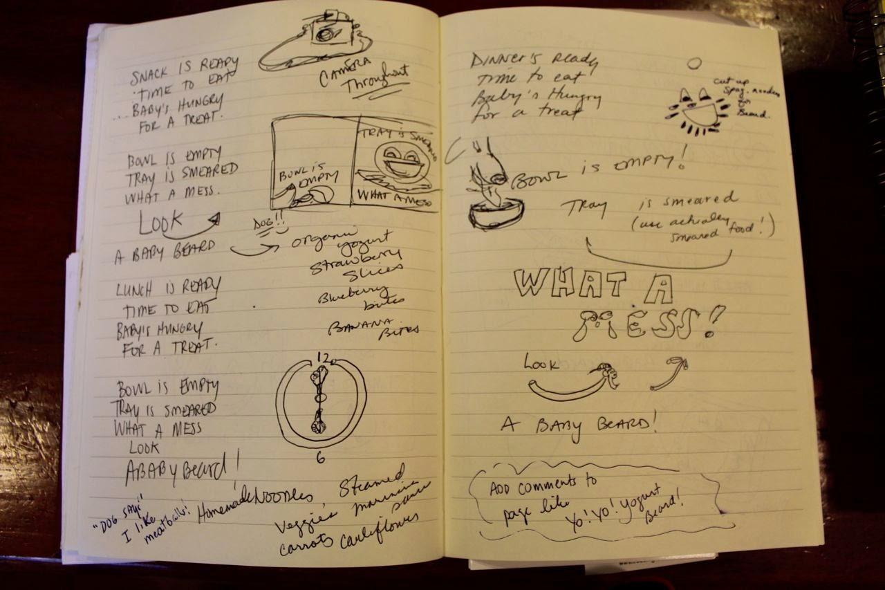 Baby Beards! - revising a picture book via www.ericvr.com