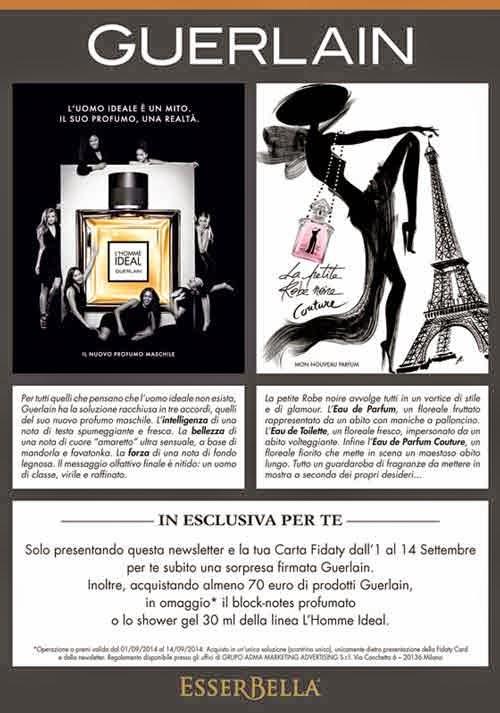 Guerlain coupon sorpresa