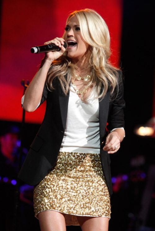 The Blair Necessities Carrie Underwood Replaces Faith Hill On