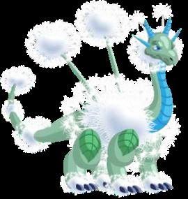 imagen del dragon diente de leon adulto