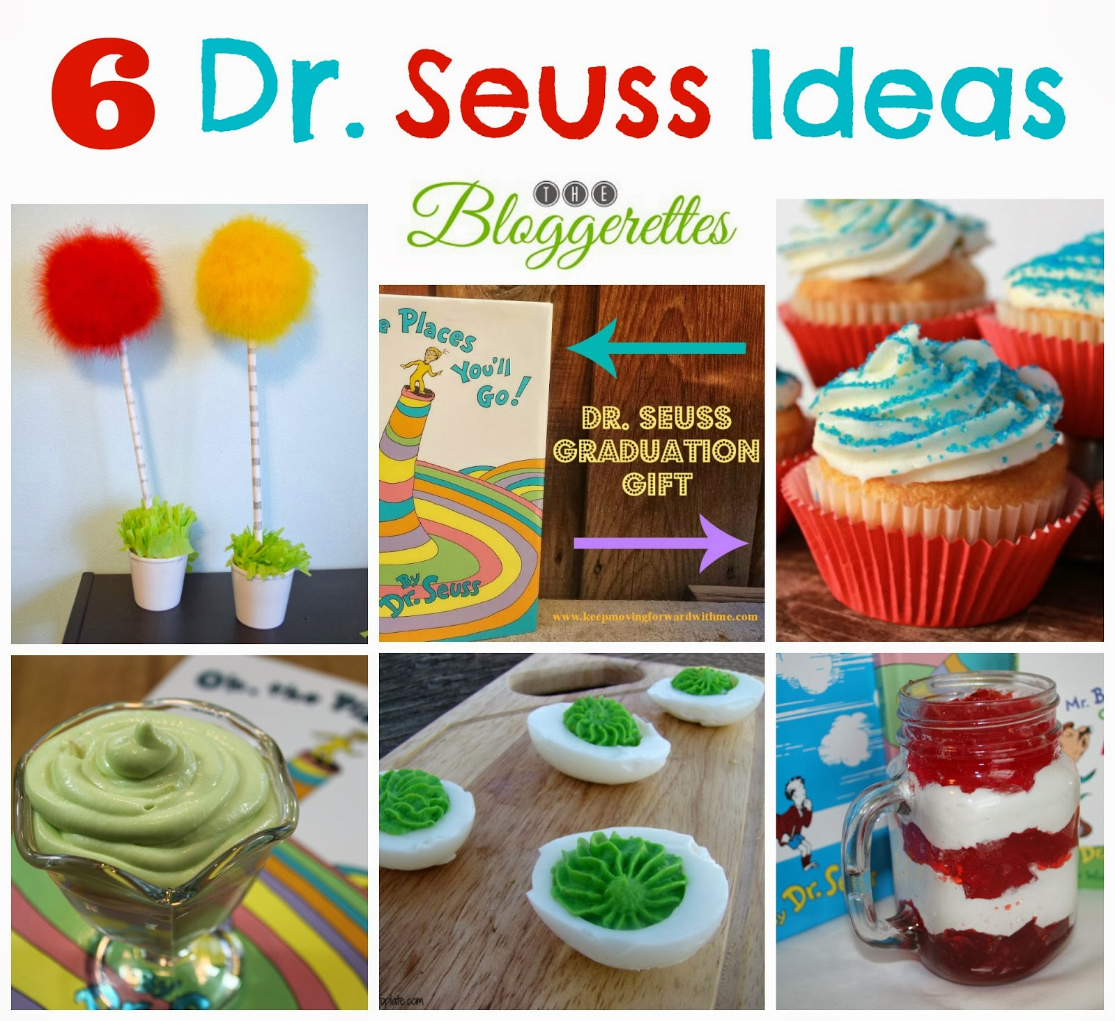 Simple Dr Seuss Cupcake