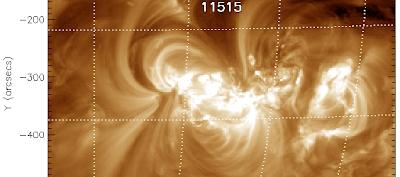 Tormenta solar 04 de Julio 2012