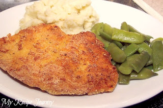 Cornmeal Crusted Pork Chops