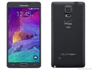 Verizon Samsung Galaxy Note 4