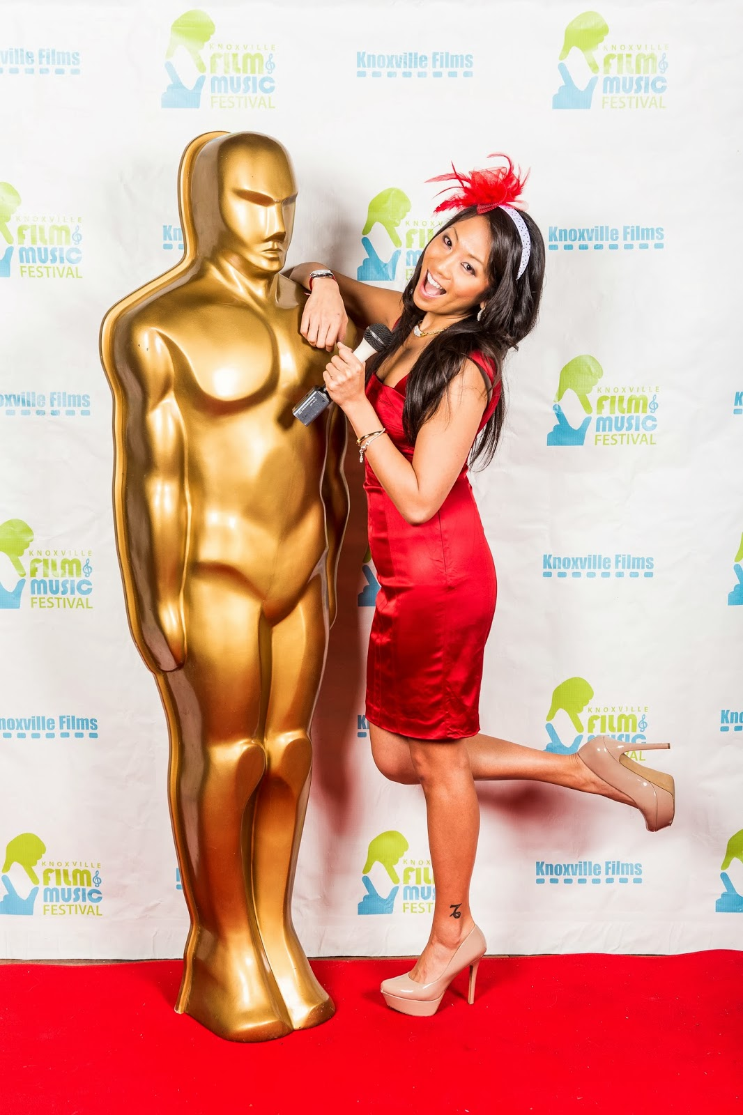 2014 Knoscar Party hosted by Knoxville Films, Knoxville Film and Music Festival, Angelina Wong