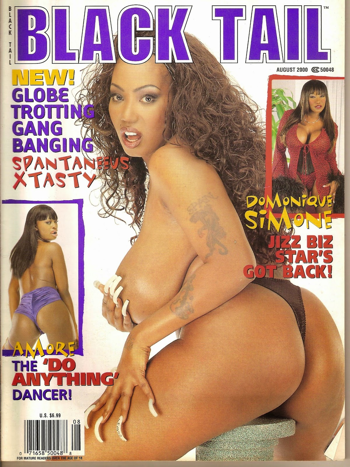 pleasure porn magazine Plus another porn legend bares it all-Domonique Simone! There are 4 more  hot sistas spreading pink pussies for your viewing pleasure! Sorry!Sold out!
