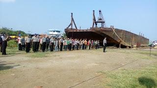 Sukses Cetak Tenaga Kerja Handal, FKKMP Lanjutkan Pemberdayaan Pemuda Melaui Pelatihan Pengelasan Kapal Baja