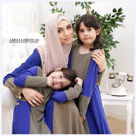 5 Warna Pilihan Terbaru Jom Cipta Ura Sedondon Dengan Set Sedondon Dress Adelia