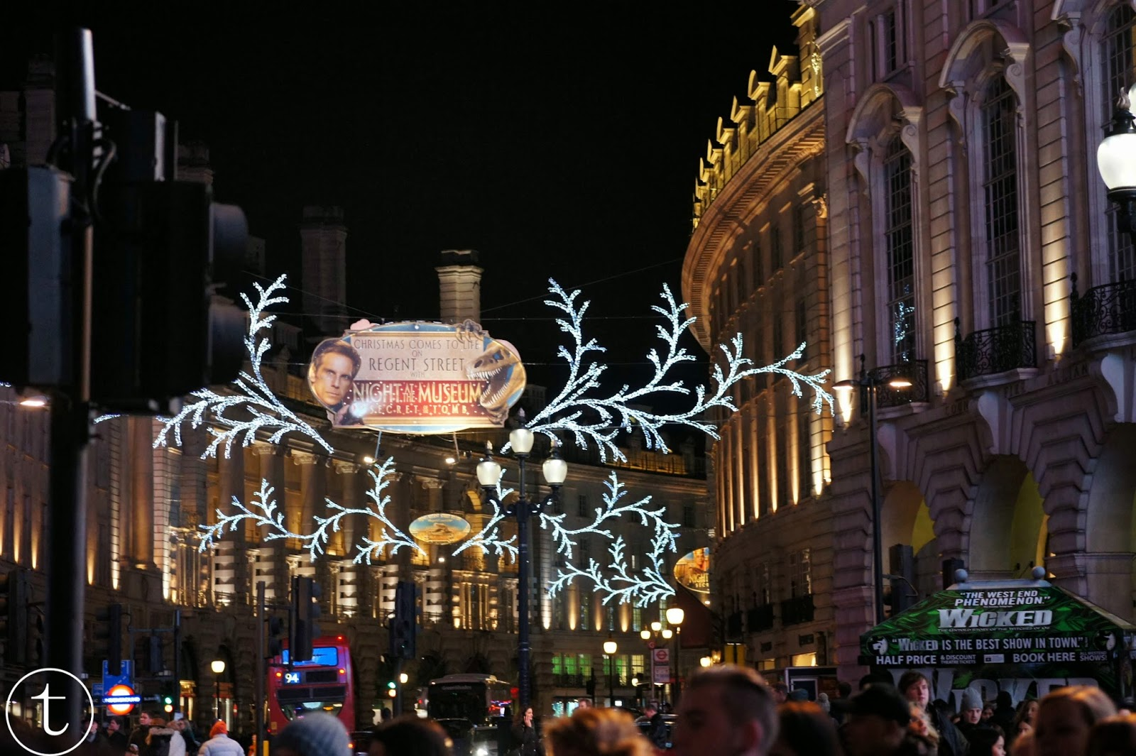 christmas time at regent street