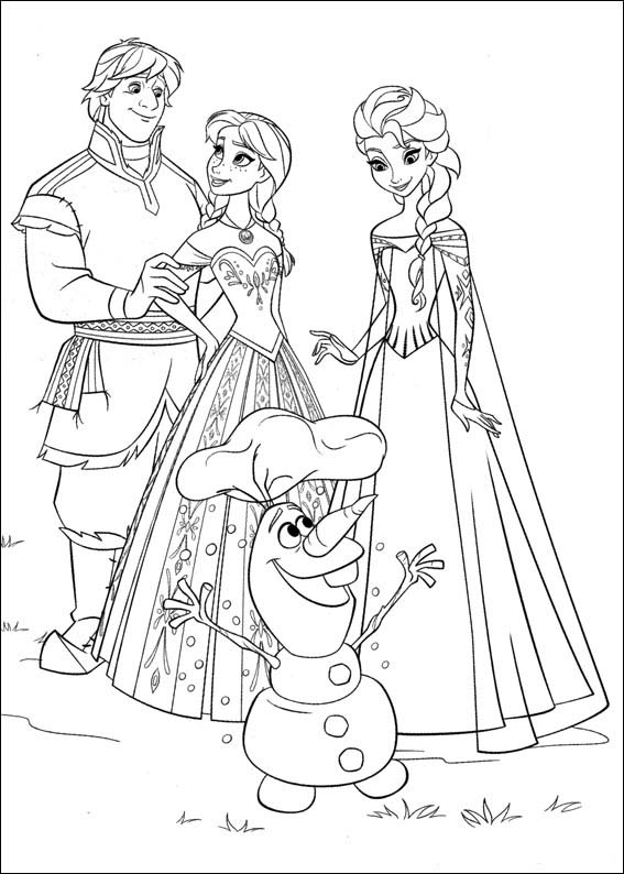 free kids coloring pages frozen - photo#25