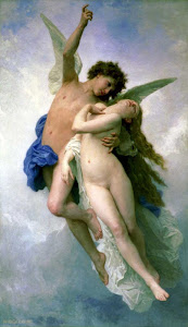 Psyche et L'Amour By William Bouguereau