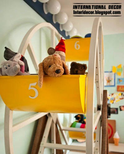 Design space for the little angel with latest trends,kids room 2014
