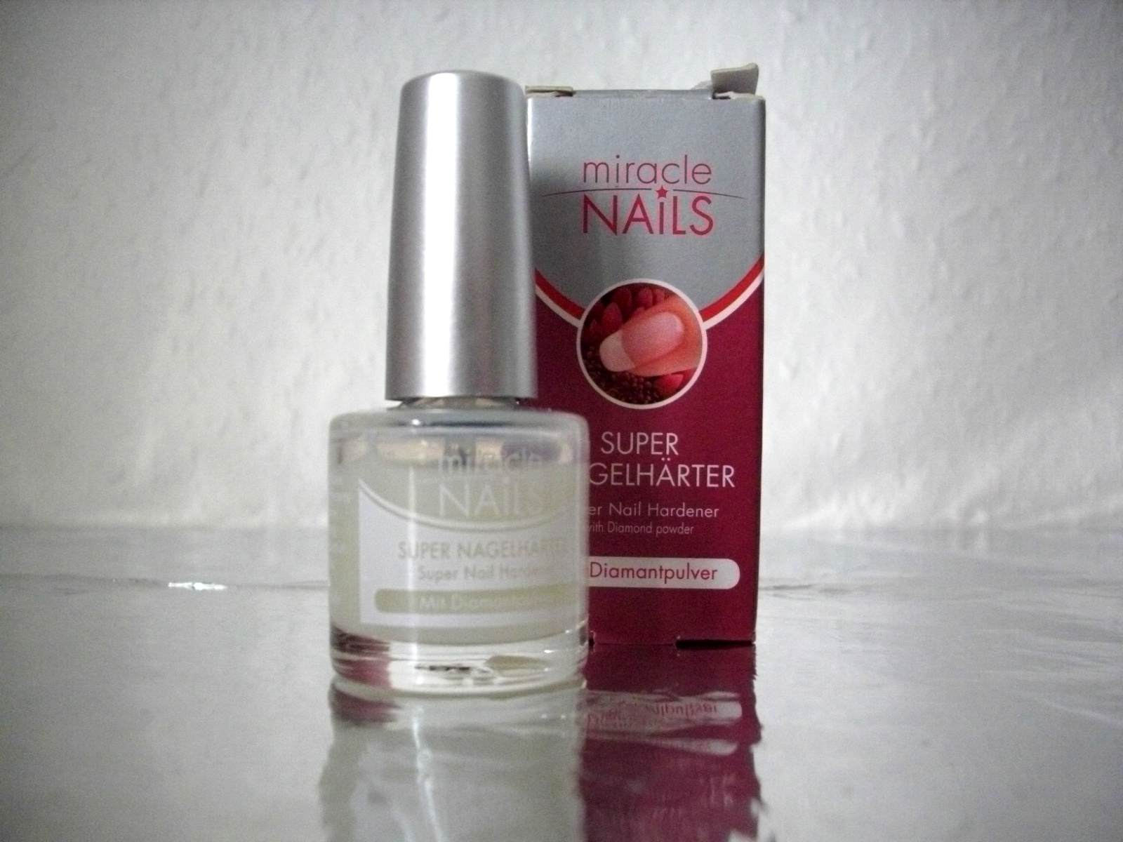 Lina\'s Fairy Tale: [Review] Miracle Nails Super Nagelhärter ...