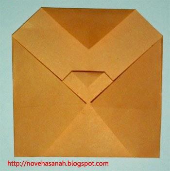 origami mudah anak TK burung hantu