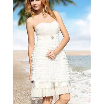 Only in this way you can use your wedding day 2012 Beach Wedding Dresses