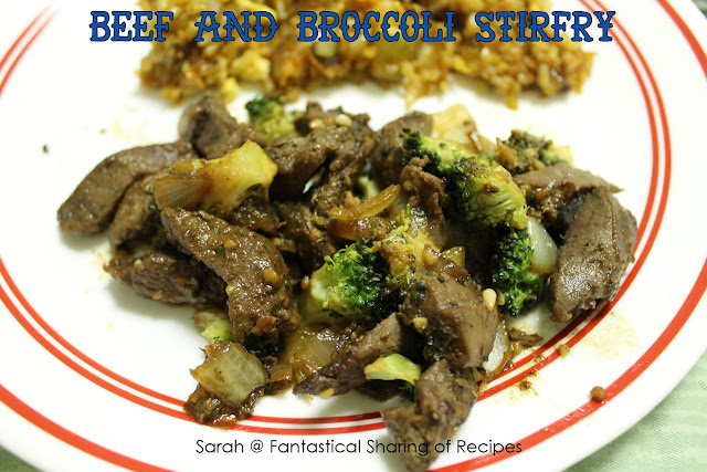Beef &amp; Broccoli Stir Fry - a quick fix for all your cravings! #stirfry #steak #broccoli