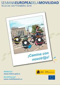 """Semana Europea de la Movilidad 2019 """"Camina con nosotr@s"""""""