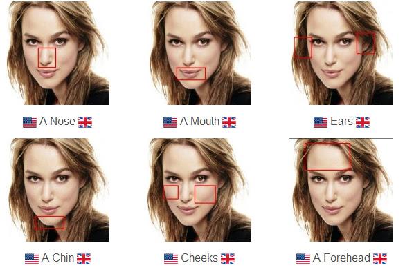 Scottish facial features women