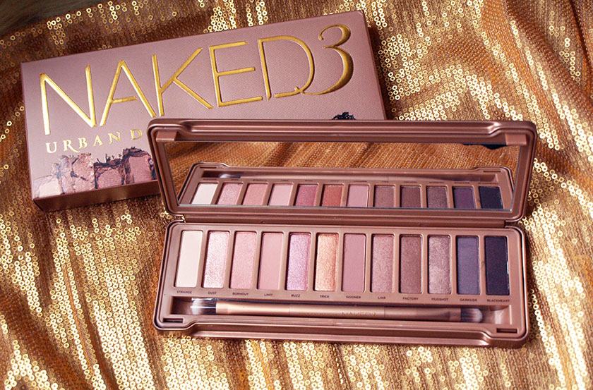 Naked 3 Palette Swatches & Comparison to 1 & 2 (with video)