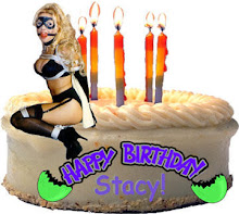 Click on Cake to Help Stacy Blow Out her Candles