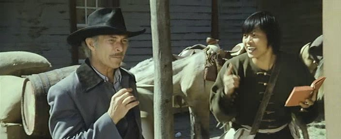 The Stranger And The Gunfighter Starring Lee Van Cleef and Lo Lieh